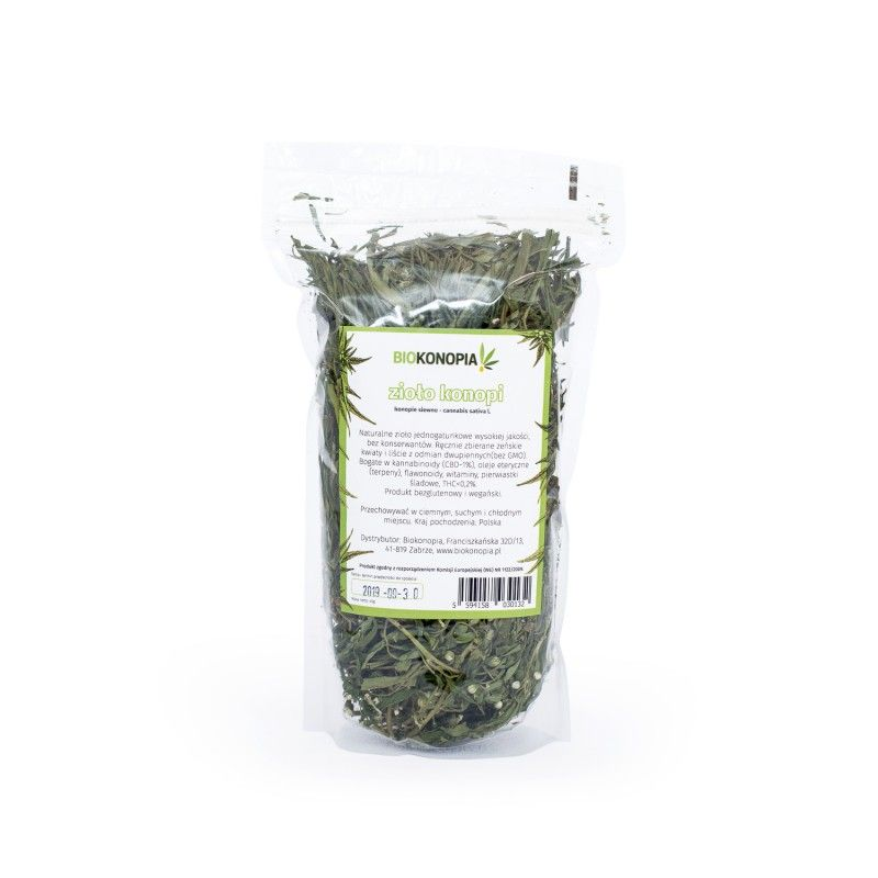Herbatka konopna 1-2% CBD 40g