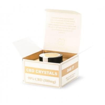 Kryształy 99% 500mg CBD 0,5g Endoca