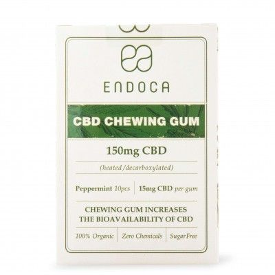 Guma do żucia 100mg CBD 10szt. Endoca