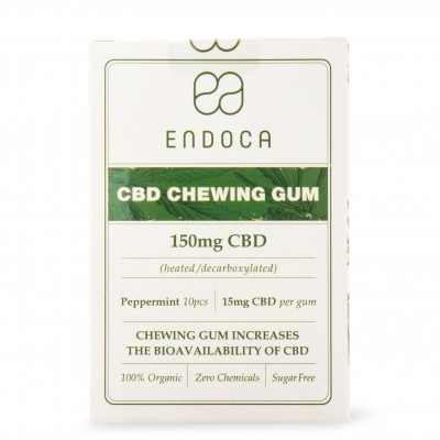 Guma do żucia 150mg CBD 10szt. Endoca