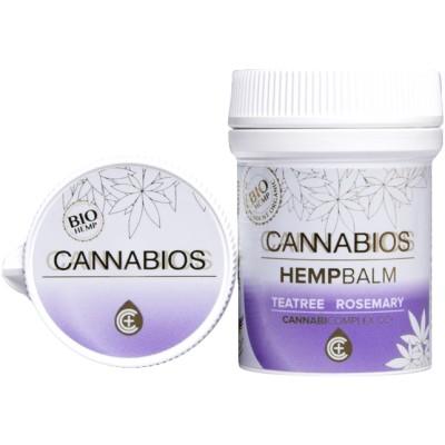 Balsam konopny CBD z rozmar. i drzewem herbacianym 50ml