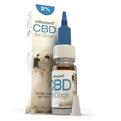 Olejek CBD 2% dla psów 10ml Cibapet