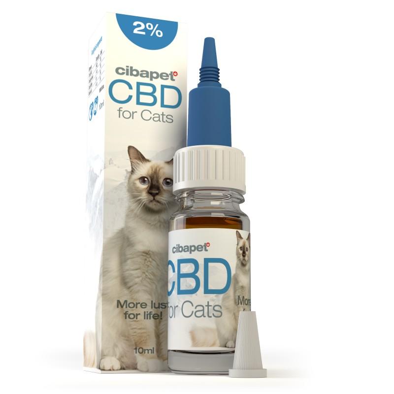 Olejek CBD 2% dla kotów 10ml Cibapet
