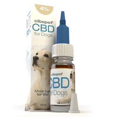 Olejek CBD 4% dla psów 10ml Cibapet