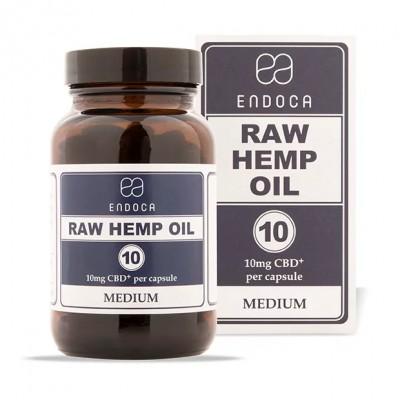 Kapsułki konopne RAW 3% 300mg CBDa+CBD 30szt. Endoca