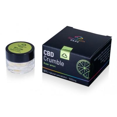 Wosk 90%+ CBD Super Lemon 1000mg 1g Spectrum Vape
