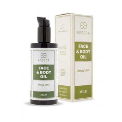 Olejek do twarzy i ciała 1,5% 300mg CBD 200ml Endoca